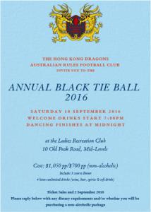 Black Tie Event @ LRC | Hong Kong Island | Hong Kong